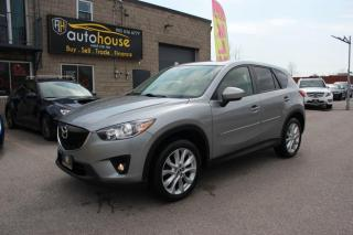 Used 2015 Mazda CX-5 AWD/GT/SPORT PKG/ACCIDENT FREE/REARVIEW CAMERA/LEATHER for sale in Newmarket, ON