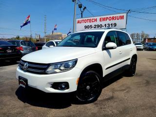 Used 2013 Volkswagen Tiguan Comfortline Leather/Pano Sunroof/Heated Seats&ABS* for sale in Mississauga, ON