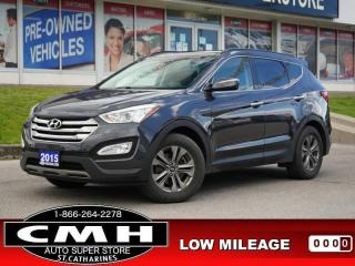 Used 2015 Hyundai Santa Fe Sport Luxury  CAM ROOF LEATH HTD-S/W 17-AL for sale in St. Catharines, ON