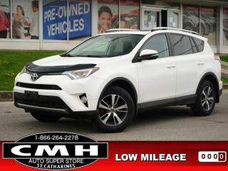 Used 2016 Toyota RAV4 Sport  CAM BLIND-SPOT ROOF HTD-SEATS 17-AL for sale in St. Catharines, ON