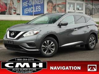 Used 2015 Nissan Murano S  NAV CAM DUAL-CLIM HTD-SEATS 18-AL for sale in St. Catharines, ON