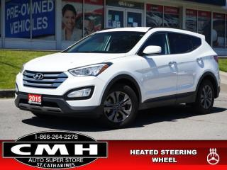 Used 2015 Hyundai Santa Fe Sport Premium  PARK-SENS P/SEAT HTD-S/W for sale in St. Catharines, ON