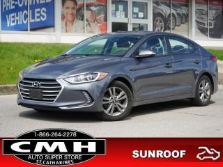 Used 2018 Hyundai Elantra GL SE  CAM BLIND-SPOT HTD-S/W 16-AL for sale in St. Catharines, ON