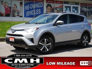 Used 2018 Toyota RAV4 Sport  CAM LANE-DEP HTD-SEATS 17-AL for sale in St. Catharines, ON
