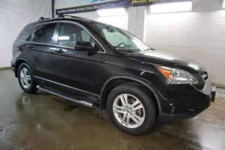 Used 2011 Honda CR-V EX-L 4WD CERTIFIED 2YR WARRANTY *2nd WINTER* SUNROOF HEATED LEATHER RUNNING BOARD for sale in Milton, ON