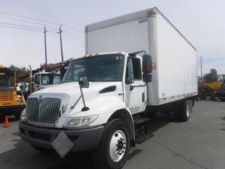 Used 2009 International 4300 DuraStar 24 Foot Diesel Cube Van With Power Tailgate And Air Brakes for sale in Burnaby, BC