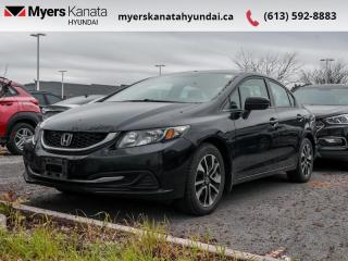 Used 2015 Honda Civic Sedan EX  - $81 B/W for sale in Kanata, ON