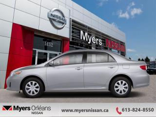 Used 2013 Toyota Corolla LE  - Sunroof -  Bluetooth - $82 B/W for sale in Orleans, ON
