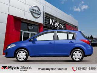 Used 2008 Nissan Versa 1.8 S  - $65 B/W - Low Mileage for sale in Orleans, ON