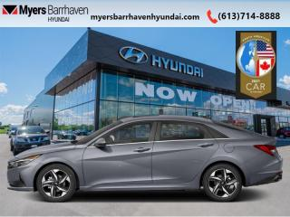 New 2021 Hyundai Elantra Ultimate IVT  - Sunroof -  Leather Seats - $180 B/W for sale in Nepean, ON