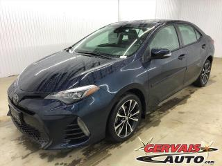 Used 2018 Toyota Corolla SE Toit Ouvrant Cuir/Tissus Caméra Bluetooth Mags *Bas Kilométrage* for sale in Shawinigan, QC