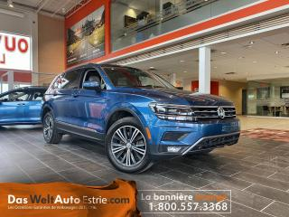 Used 2018 Volkswagen Tiguan Highline 4Motion, Cuir ,Toit, Automatique for sale in Sherbrooke, QC