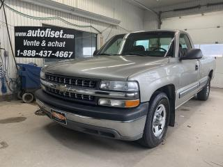 Used 2001 Chevrolet Silverado 1500 Reg Cab 133.0  WB for sale in St-Raymond, QC