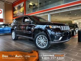 Used 2018 Jeep Grand Cherokee Summit,  V6, 3.6L! for sale in Sherbrooke, QC