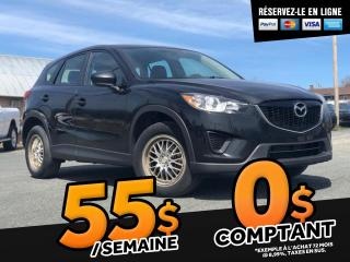 Used 2013 Mazda CX-5 GX / FWD / A/C / MANUEL for sale in St-Malachie, QC