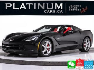 Used 2014 Chevrolet Corvette Stingray 3LT, 455HP, NAV, CAM, HEATED, VENTED,BOSE for sale in Toronto, ON
