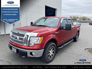 Used 2010 Ford F-150 Cabine Super 4RM 145 po Lariat for sale in Victoriaville, QC