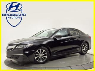 Used 2015 Acura TLX Tech  CUIR  TOIT NAV AVERTISEUR ANGLE MORT for sale in Brossard, QC