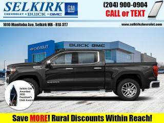 New 2021 GMC Sierra 1500 SLT  - Navigation - Diesel Engine for sale in Selkirk, MB