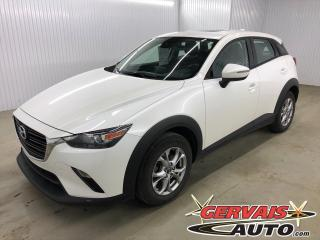 Used 2019 Mazda CX-3 GS LUXE AWD GPS TOIT OUVRANT CUIR/TISSUS MAGS *Traction intégrale* for sale in Trois-Rivières, QC