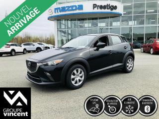 Used 2017 Mazda CX-3 GX ** GARANTIE 10 ANS ** Agile, fiable et abordable! for sale in Shawinigan, QC