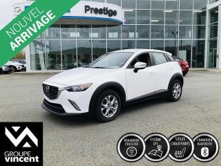 Used 2017 Mazda CX-3 GS GPS ** GARANTIE 10 ANS ** Conduite amusante! for sale in Shawinigan, QC