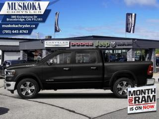 New 2021 RAM 1500 Laramie  - Leather Seats - Navigation for sale in Bracebridge, ON
