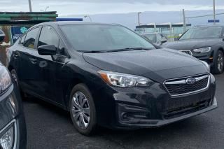 Used 2018 Subaru Impreza CONVENIENCE AWD A/C CAMÉRA DE RECUL for sale in St-Hubert, QC