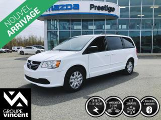 Used 2016 Dodge Grand Caravan SXT ** GARANTIE 10 ANS ** Pratique en tout points! for sale in Shawinigan, QC