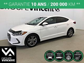 Used 2017 Hyundai Elantra GL ** GARANTIE 10 ANS ** Berline fiable et économique! for sale in Shawinigan, QC