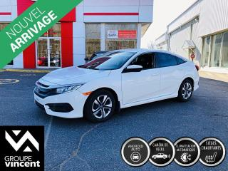 Used 2018 Honda Civic LX ** GARANTIE 10 ANS ** La berline la plus vendue au Canada! for sale in Shawinigan, QC