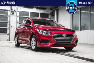 Used 2019 Hyundai Accent Essential Comfort chez Rimouski Hyundai for sale in Rimouski, QC