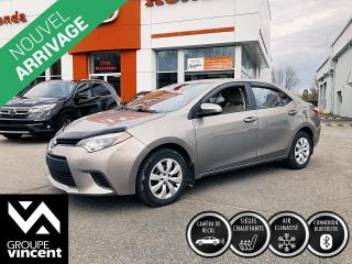 Used 2014 Toyota Corolla LE ** GARANTIE 10 ANS ** Fiable et abordable! for sale in Shawinigan, QC