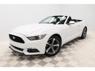 Used 2016 Ford Mustang *V6 *CONVERTIBLE *BLUETOOTH *COMME-NEUVE! for sale in St-Hubert, QC