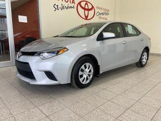 Used 2016 Toyota Corolla * CE * AUTOMATIQUE * VITRES ET PORTES ELECT * for sale in Mirabel, QC