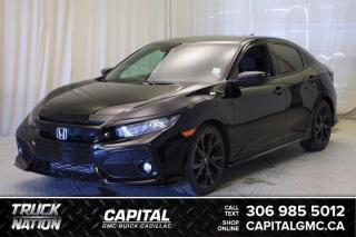 Used 2017 Honda Civic Hatchback Sport Touring HB*LEATHER*SUNROOF* for sale in Regina, SK
