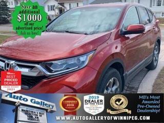 Used 2018 Honda CR-V EX-L* AWD/Sunroof/Heated Seats/NAVIGATION for sale in Winnipeg, MB