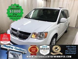Used 2019 Dodge Grand Caravan 35th Anniv* Satellite Radio/Reverse Camera/DVD for sale in Winnipeg, MB