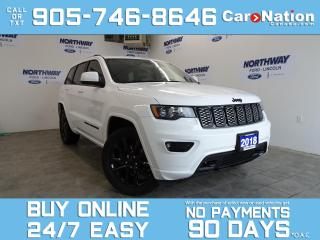Used 2018 Jeep Grand Cherokee ALTITUDE | 4X4 | LEATHER | SUNROOF | NAV for sale in Brantford, ON