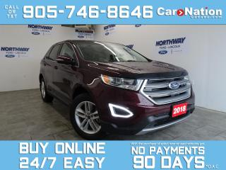 Used 2018 Ford Edge SEL | AWD | V6 | ROOF | LEATHER | NAV | 1 OWNER for sale in Brantford, ON