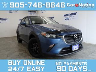 Used 2019 Mazda CX-3 AWD | NAV | REAR CAM | UPGRADED RIMS| ONLY 18 KM! for sale in Brantford, ON