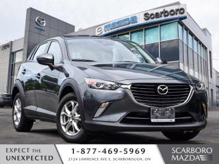 Used 2018 Mazda CX-3 GS NEW BRAKES 1 OWNER CLEAN CARFAX LOW KM for sale in Scarborough, ON