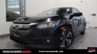 Used 2017 Honda Civic EX-T + HONDA SENSING + VITRES TEINTEES ! for sale in Trois-Rivières, QC