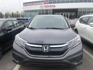 Used 2016 Honda CR-V LX AWD **GAR.PROL.HONDA **SEULEMENT 77 911KM *** for sale in St-Eustache, QC