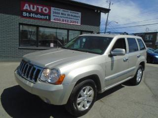 Used 2008 Jeep Grand Cherokee OVERLAND**CUIR**DIESEL**WOW!!** for sale in St-Hubert, QC