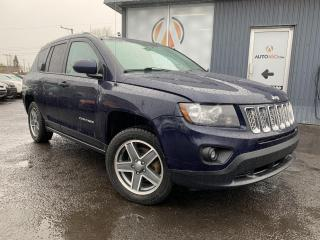 Used 2015 Jeep Compass ***NORTH,4X4,CUIR,TOIT,MAGS,AUBAINE*** for sale in Longueuil, QC