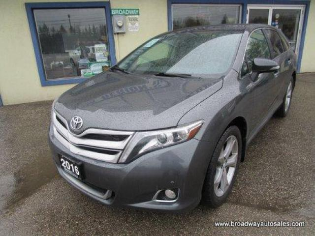 2016 Toyota Venza ALL-WHEEL DRIVE LIMITED EDITION 5 PASSENGER 3.5L - V6.. NAVIGATION.. LEATHER.. HEATED SEATS.. POWER DUAL SUNROOF.. BACK-UP CAMERA.. BLUETOOTH..