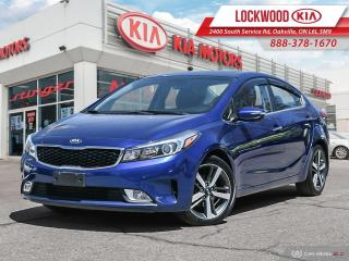 Used 2018 Kia Forte EX+ Auto - ONE OWNER | CLEAN CARFAX for sale in Oakville, ON