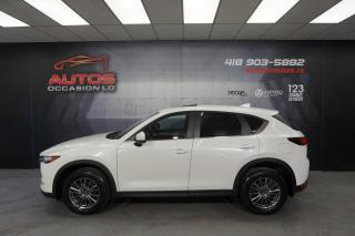 Used 2017 Mazda CX-5 GS AWD AUTO + CUIR TOIT GPS NAV + CAMERA 69 768 KM for sale in Lévis, QC