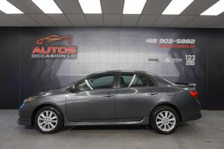 Used 2010 Toyota Corolla S ** SPORT AUTOMATIQUE A/C MAGS DÉMARREUR 127 056 for sale in Lévis, QC